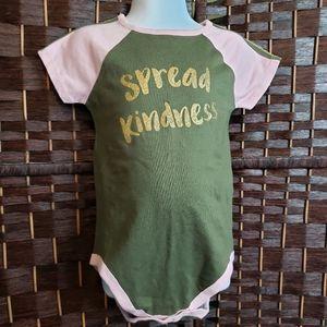 NWOT Spread Kindness Onsie